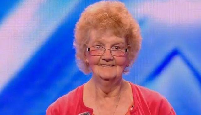 Cea mai simpatica batranica, respinsa la auditiile X Factor UK (video)