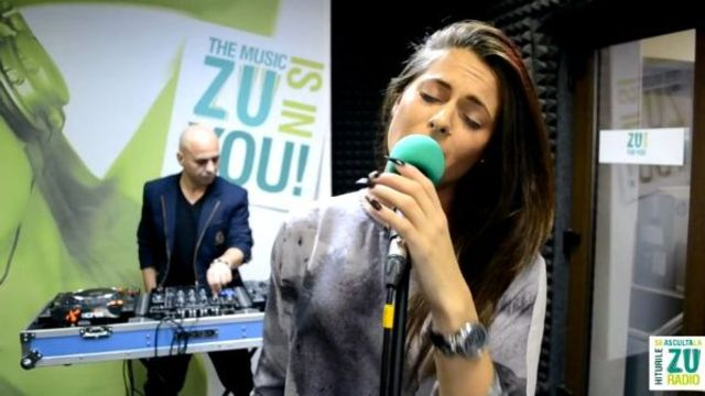 DJ Sava & Raluka - Aroma / Stay / Read All About It live @ Radio Zu (video)