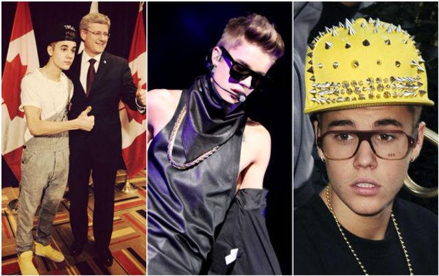 Justin Bieber: tinute ridicole