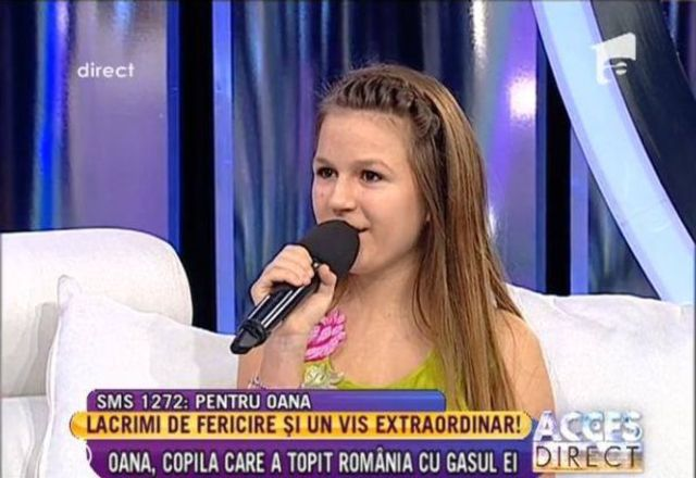 Next Star: Oana Tabultoc a cantat la Acces Direct (video)