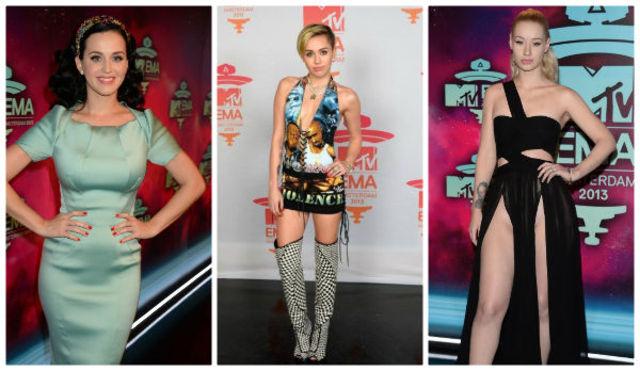 Vedete bine/ prost imbracate la MTV EMA 2013 (poze)