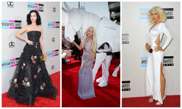 Vedete bine / prost imbracate la American Music Awards 2013 (poze)