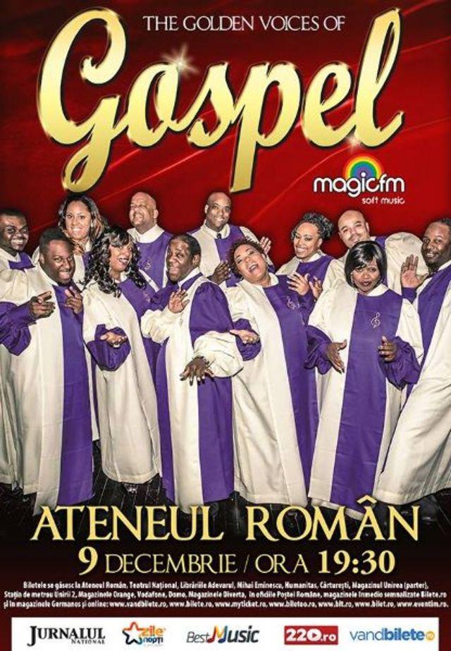 Concurs: invitatii la spectacolul The Golden Voices of Gospel