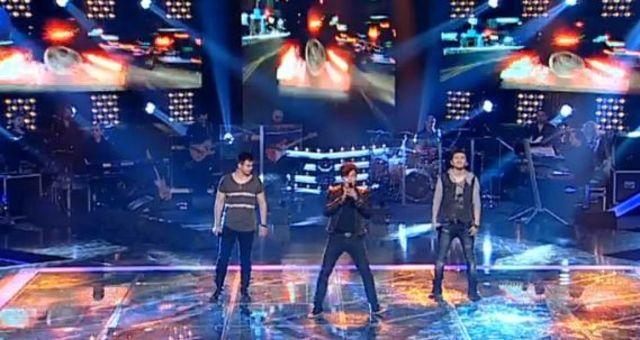 Marius Moga si-a facut boyband: DeM'boyz au cantat in finala Vocea Romaniei (video)