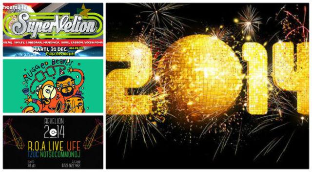 Revelion 2014 in Bucuresti: ghidul petrecerilor in functie de buget