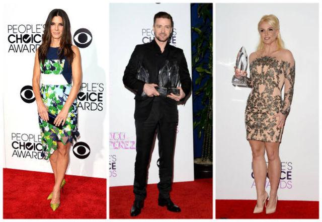 Vedete bine / prost imbracate la People's Choice Awards 2014 (poze)