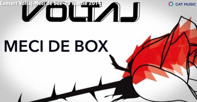 Voltaj - Meci de box (single nou)