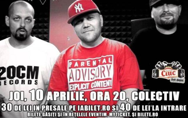 Hip Hop Kolektiv, editia I - Parazitii, Omu Gnom, Dedey & Keri, Urban Assault, MMC, O.N.&Clue si In Extremis