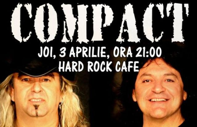 COMPACT lanseaza o piesa noua pe 3 aprilie la Hard Rock Cafe