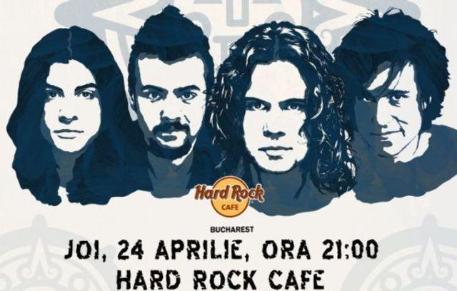 15 de ani de BOSQUITO, pe 24 aprilie la Hard Rock Cafe