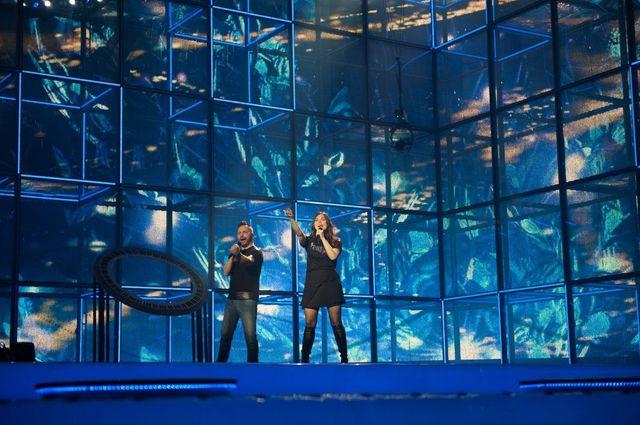 Paula Seling si Ovi - repetite Eurovision 2014