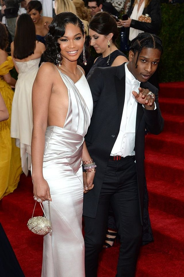ASAP Rocky & Chanel Iman