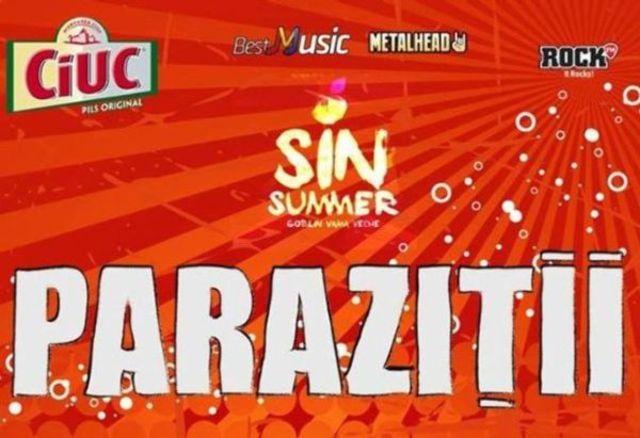 Concurs: doua invitatii duble la Sin Summer cu Parazitii & Silent Strike (la rasarit) in Goblin Vama Veche (19 iulie)