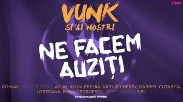 Vunk ft. Sisu, Nicole Cherry, Loredana + altii - Ne Facem Auziti (single nou)