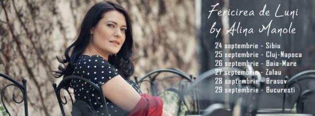 Alina Manole: incepe turneul Fericirea de Luni