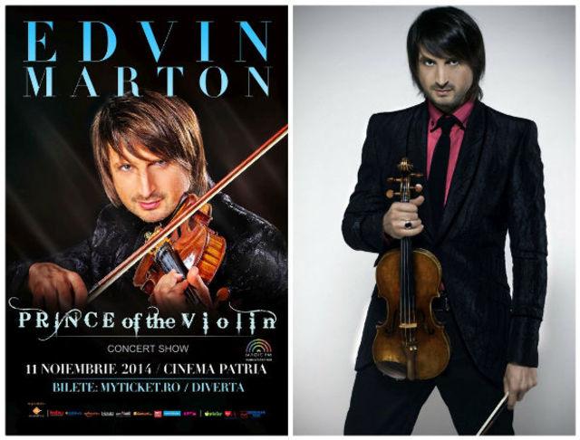 Vioara Stradivarius 'ex-Leopold Auer' va rasuna in premiera la Bucuresti in show-ul Prince of the Violin