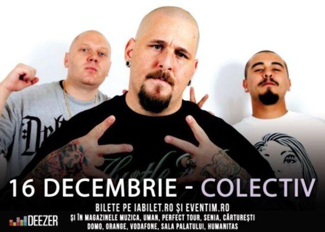 Delinquent Habits canta la a doua editie HiP HoP Kolektiv, pe 16 decembrie
