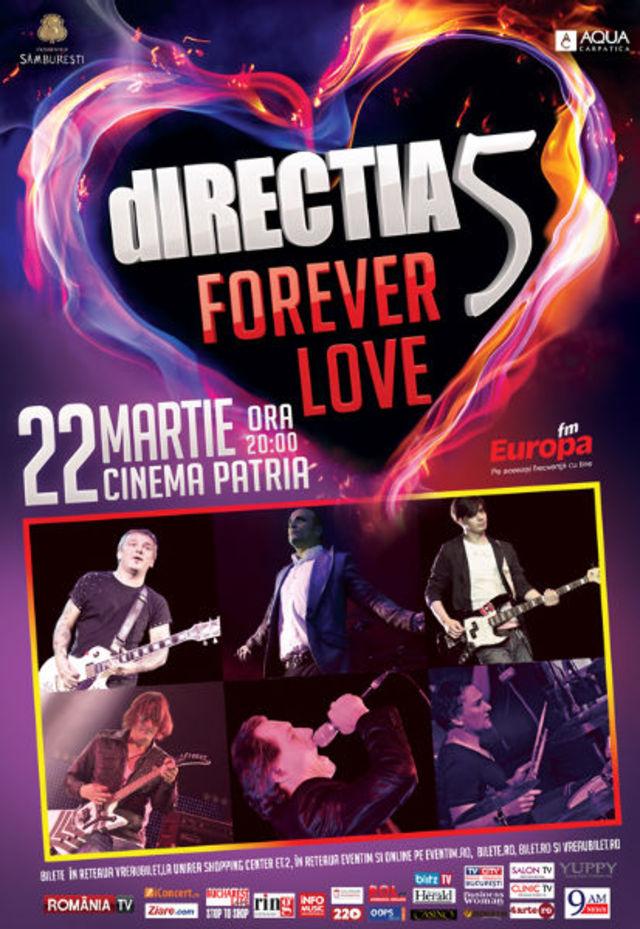 Directia 5 reprogrameaza concertul de la Cinema Patria. Biletele raman valabile pentru noua data