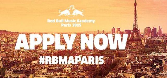 Red Bull Music Academy lanseaza o noua compilatie gratuita! Aplica acum pentru Paris