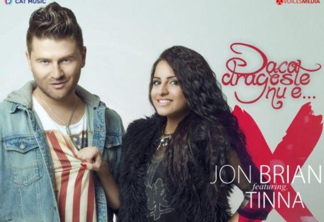 "Jon Brian lanseaza single-ul ""Daca dragoste nu e..."", feat Tinna (audio)"