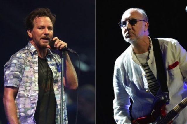 Pete Townshend si Eddie Vedder au facut echipa pentru un eveniment caritabil