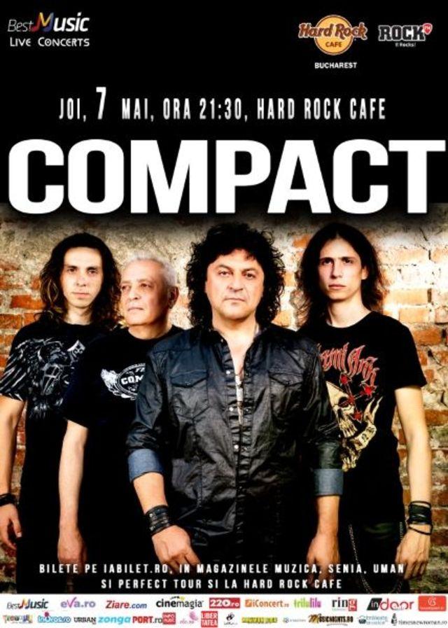 Horia Brenciu invitat special alaturi de COMPACT pe 7 mai la Hard Rock Cafe