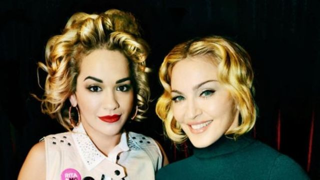 Madonna colaboreaza cu Rita Ora
