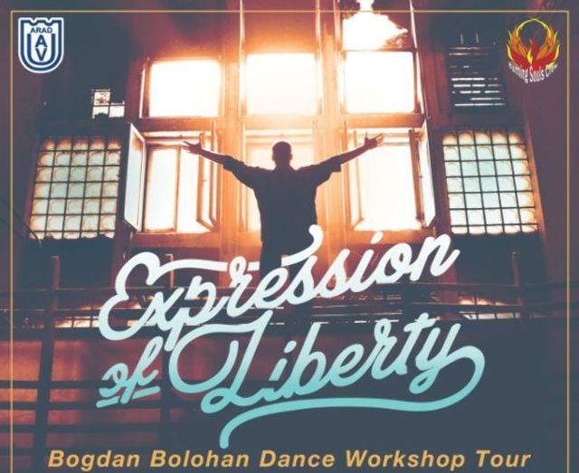 Vino sa inveti sa dansezi alaturi de Bogdan Bolohan de la Romanii au talent pe 18 iulie!