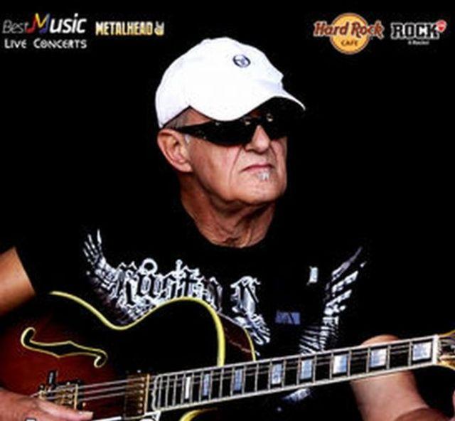 Maestrul chitarii, Jan Akkerman, in concert la Bucuresti la Hard Rock Cafe