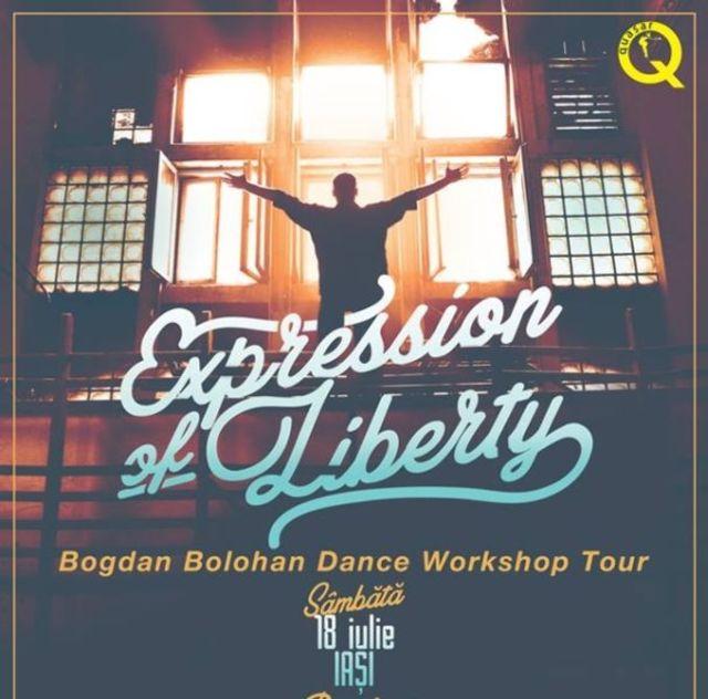 IASI: Vino sa inveti sa dansezi alaturi de Bogdan Bolohan de la Romanii au talent pe 18 iulie!