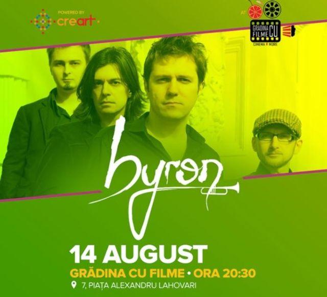 """Trupa byron lanseaza noul single """"Marea"""" pe 14 august la Gradina cu Filme"""