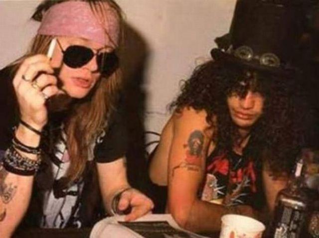 Slash si Axl Rose au revenit la sentimente mai bune?