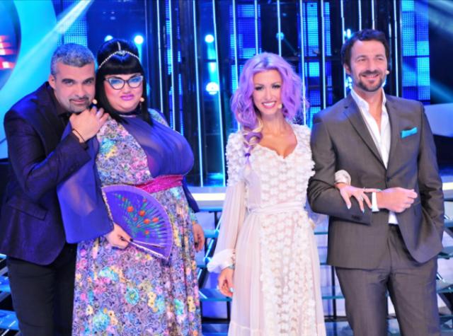 """Aurelian Temisan si Andrei Aradits danseaza ZIZI cu Andreea Balan in culisele """"Te cunosc de undeva""""!"""