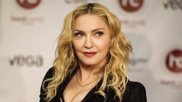 Madonna s-a impacat cu fiul ei, Rocco