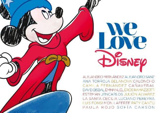 David Bisbal, Eros Ramazzotti si Alejandro Sanz vor aparea pe compilatia 'We Love Disney Latino'!