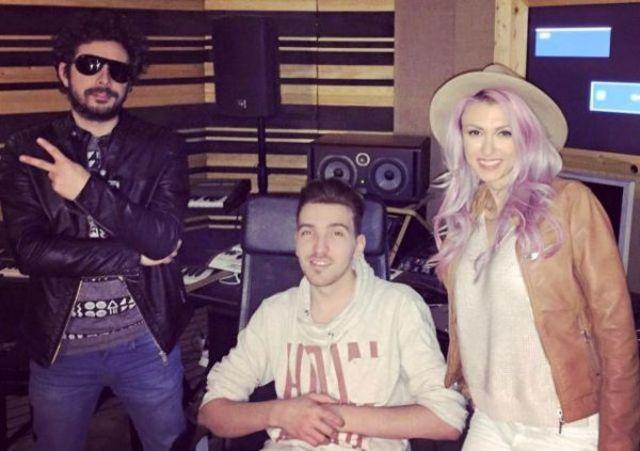 """Andreea Balan si Marius Moga s-au reunit in studio pentru """"Carusel""""!"""
