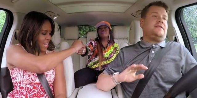 Michelle Obama a cantat in duet cu Missy Elliott