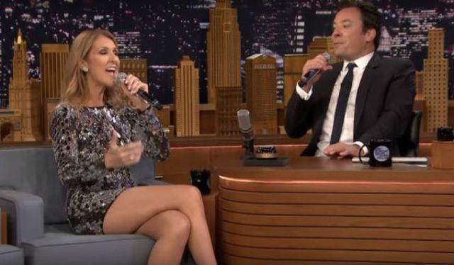 Celine Dion le-a imitat pe Cher, Rihanna si Sia in show-ul lui Jimmy Fallon (video)