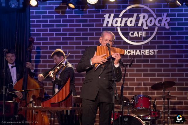 Poze Gheorghe Zamfir @Hard Rock Cafe