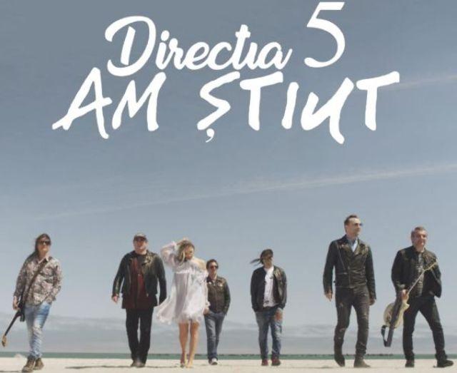 directia 5 a lansat videoclipul piesei 'Am stiut' sub egida Cat Music