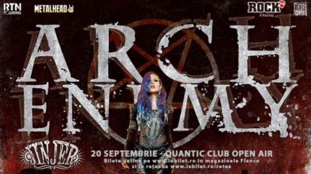 Arch Enemy la Bucuresti: Oferta Earlybird prelungita pentru inca o saptamana si videoclip nou Arch Enemy!