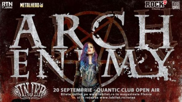 Arch Enemy la Bucuresti: Ultimele zile de presale si detalii noi despre albumul 'Will To Power'