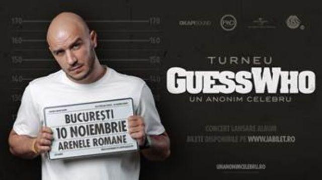 """Guess Who va lansa albumul """"Un Anonim Celebru"""", printr-un concert la Arenele Romane (Bucuresti)"""