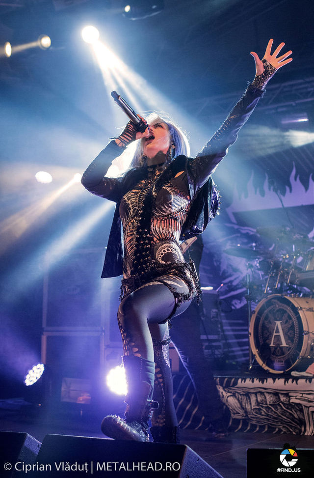 Galerie foto Arch Enemy si Jinjer @Quantic