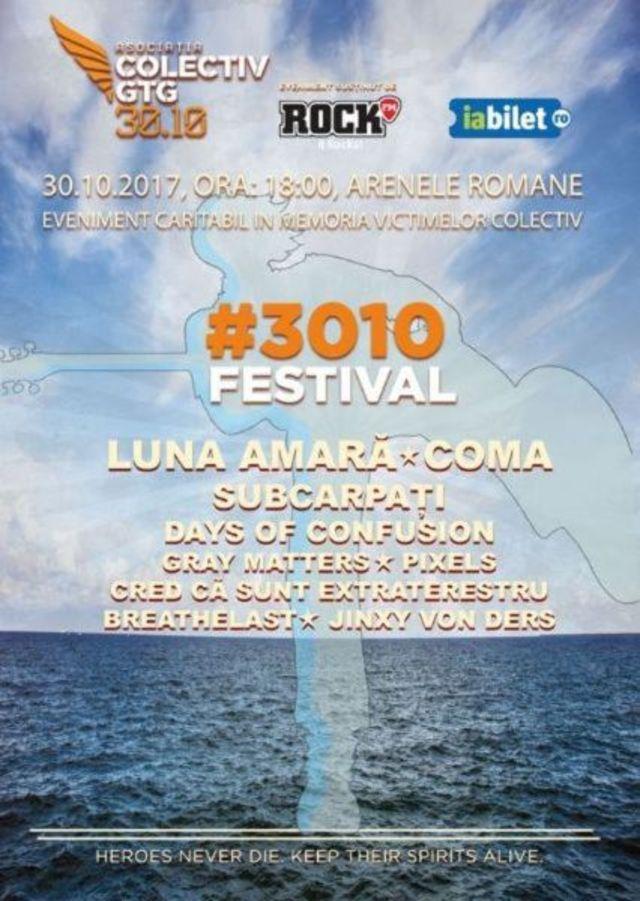 Concert Caritabil Colectiv - #3010 Festival editia a2-a