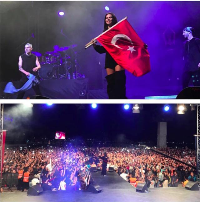 INNA, concert in fata a 400 000 de fani!