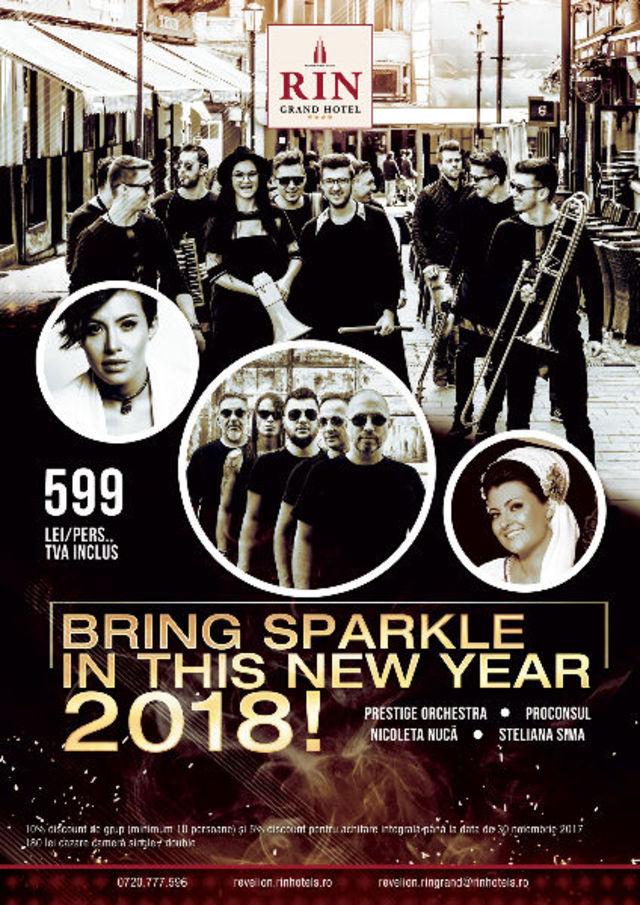 Revelion 2018 de neuitat la RIN Grand Hotel!