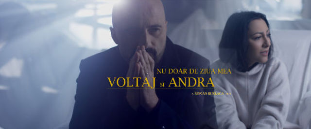"""Voltaj lanseaza alaturi de Andra """"Nu doar de ziua mea"""""""