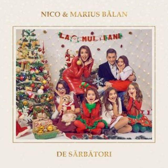 "NICO daruieste tuturor, de ziua ei, melodia ""De sarbatori"", feat Marius Balan"