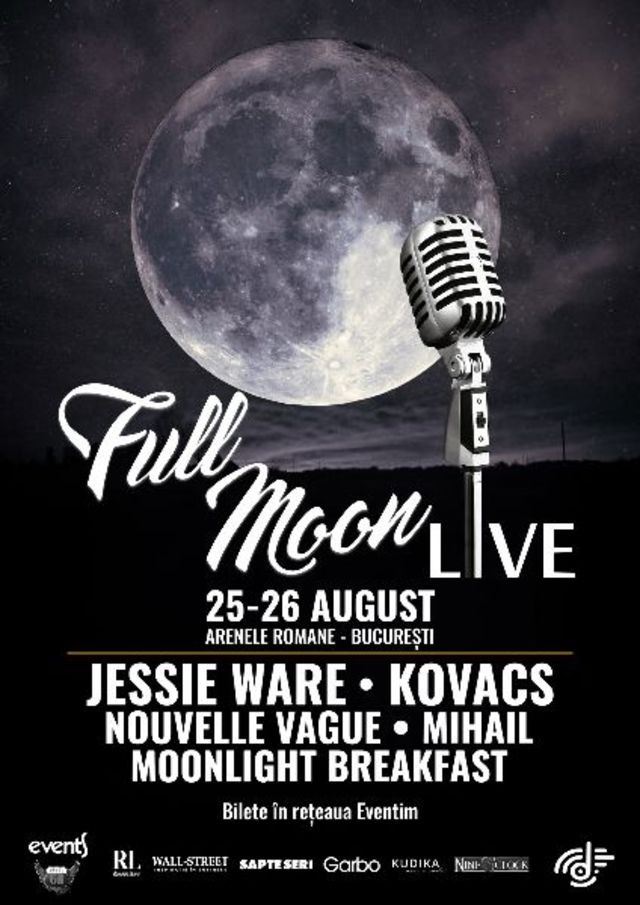 Scena plina pe 25 – 26 august la Full Moon Live 2018